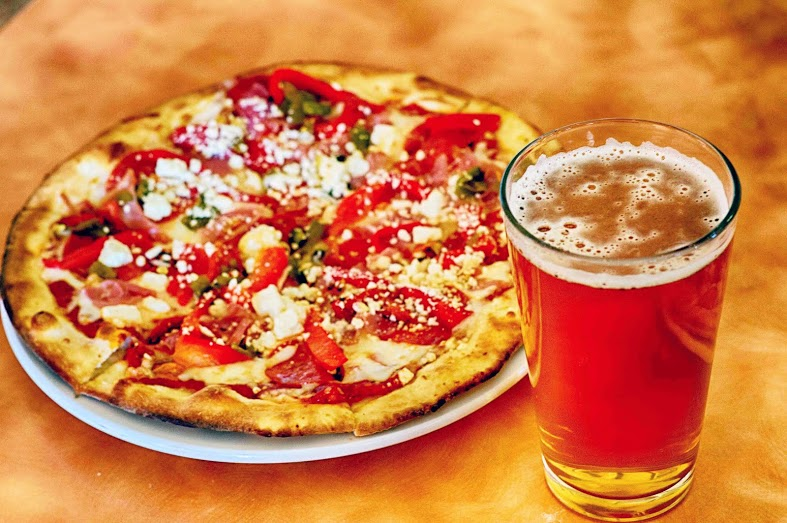 event pizza and pint night