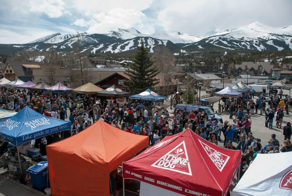breckenridge spring beer festival eddyline brewery
