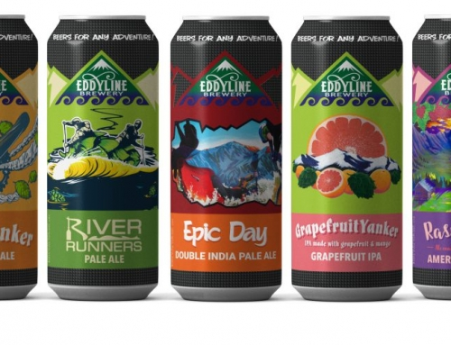 Eddyline Brewery's Fresh New Design and New Year-Round Releases